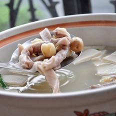 莲子肚片汤