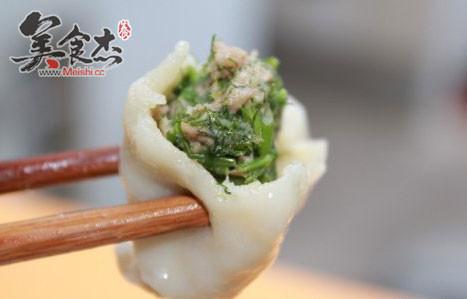 茴香苗饺子_茴香苗猪肉饺子的做法