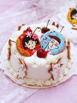 樱桃荔枝慕斯蛋糕