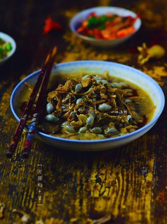 泥螺梅干菜的做法