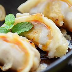 霉干菜腩肉煎饺