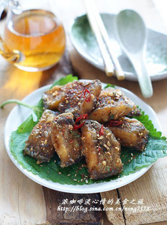 酥香椒盐鱼