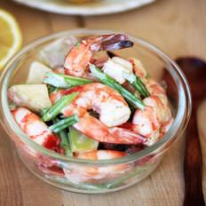 柠香鲜虾杂菜沙拉