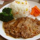 黑胡椒猪排饭