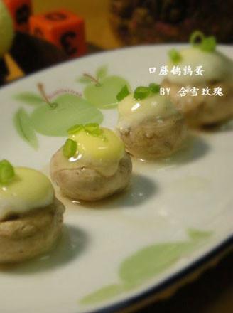 口蘑鹌鹑蛋