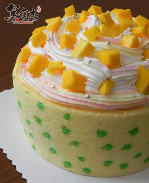 波点围边芒果奶油蛋糕Wo.jpg