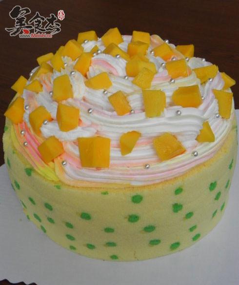波点围边芒果奶油蛋糕jL.jpg