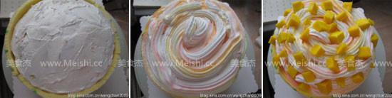 波点围边芒果奶油蛋糕pg.jpg