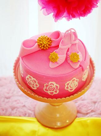高跟鞋礼盒翻糖蛋糕