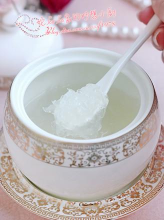 冰糖炖燕窝的做法