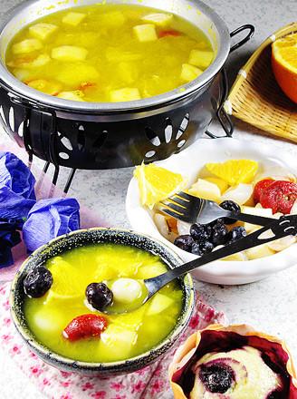 水果火锅的做法