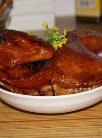 秘制烤鸡的做法