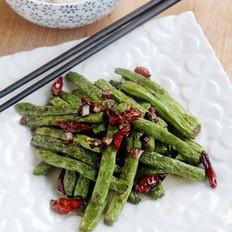 素食干煸四季豆