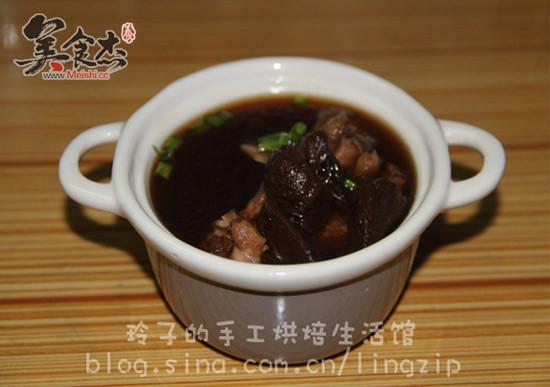 黑蒜面食排骨汤肉罗汉香菇楚留香谱素图片