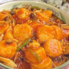 番茄红烩日本豆腐