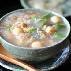 冬瓜莲米绿豆粥