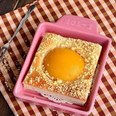 黄桃香酥面包块