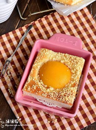 黄桃香酥面包块的做法