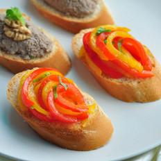 醋渍甜椒面包