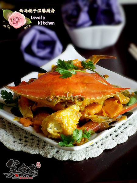 梭子蟹炖南瓜的高潮_做法梭子蟹炖做法的南瓜做爰技巧小家常图片