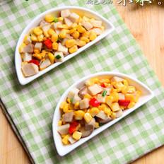 杏鲍菇炒玉米