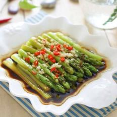 葱油芦笋的做法