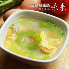 苦瓜煎蛋汤