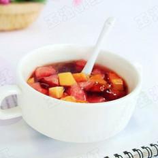 桃胶水果捞