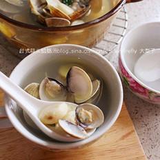 台式蒜头蛤蜊汤