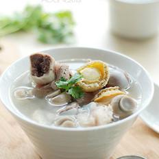鲍鱼口蘑筒骨汤