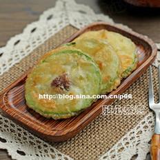 西葫芦牛肉煎饼