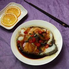 酱汁蒸鳕鱼