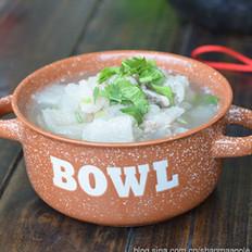 冬瓜竹荪排骨汤