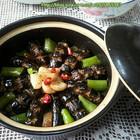 鳝鱼蒜子焖粉条