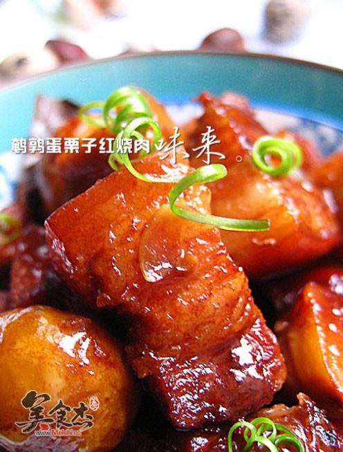 菜谱蛋栗子红烧肉鹌鹑塞尔达耐暑图片