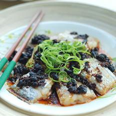 清蒸豆豉带鱼