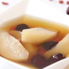 冰糖红枣炖雪梨