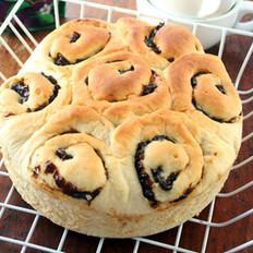 西梅花朵面包
