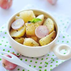 蒜味奶油烤土豆