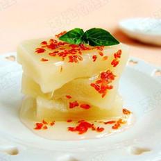 水晶桂花糕