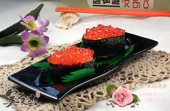 鱼子酱寿司的做法_鱼子酱寿司的家常做法大全