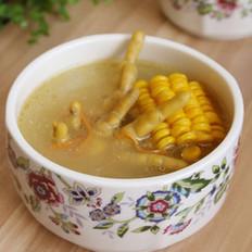 虫草菇玉米凤爪汤