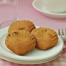 桑葚果贝壳蛋糕