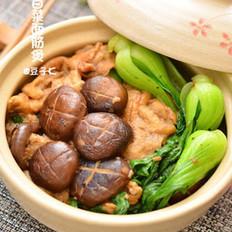 香菇面筋煲