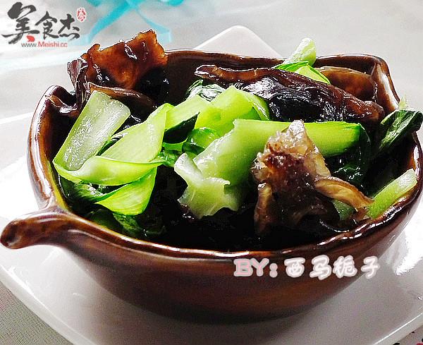 最朴素的营养全能冠军——绿叶菜(木耳炒油菜)