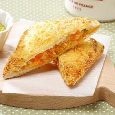 香炸蔬菜三明治