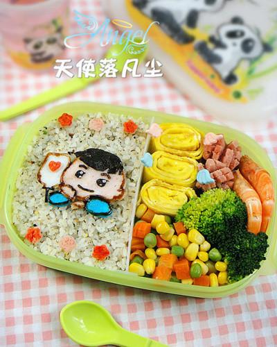 食材:米飯200g,青豆玉米混合菜100g,雞蛋60g,香松 ...