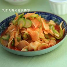 韩式萝卜片