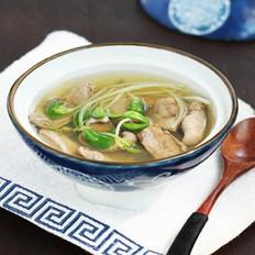 豆苗猪肝汤