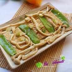 海鲜菇烩腐包